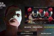Игровой автомат The Phantom of the Opera готов к запуску