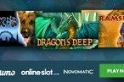 История, детектив и фэнтези: начали работу игровые автоматы Rex, Dragon's Deep и Ramses II