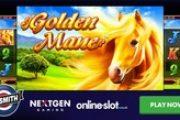 Получите удовольствие от верховой езды во время игры на игровом автомате Golden Mane