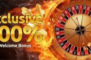 Welcome Бонус — 100%